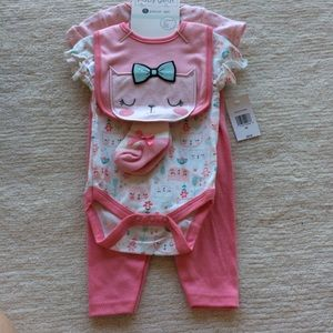Baby Gear Girl Outfit Set